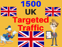 1500 UK TARGETED traffic to your website or blog adsense safe