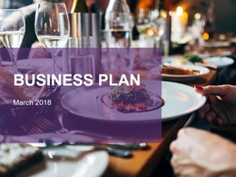 Create a well designed detailed business plan
