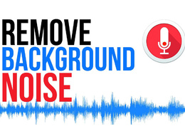 Remove background noise and cleanup your audio