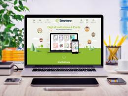 Design your fantastic PSD website homepage/landing page