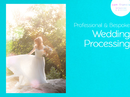 Professionally PROCESS and EDIT up to 600 wedding photographs