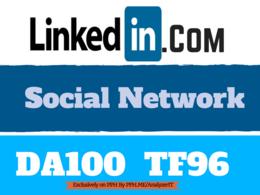 Publish A Guest Post On Linkedin Da100 HQ Backlink