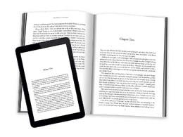Format / layout your book / manuscript for Kindle or Createspace
