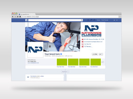 Design Facebook, Google Plus, Twitter, Linkedin,YouTube Cover