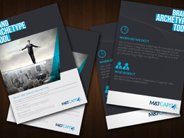 Design your creative brochure/flyer/leaflet/postcard