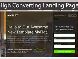 Build Professional High Converting Landing Page Or Squeeze Page