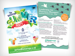 Create your flyer -  quick and professional 1 day service