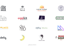 Create a modern on trend logo for your business
