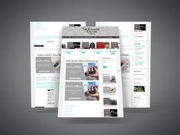 Design a premium WordPress website