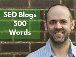 500 Words of SEO Blog Content with Links & Meta Description