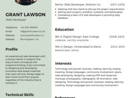 Design Resume Cover Letter In 2 Hour