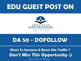 Edu Guest Post on Arkansas Northeastern College. anc.edu - DA 50