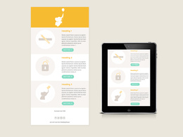 Design your MailChimp email templates which are fully editable