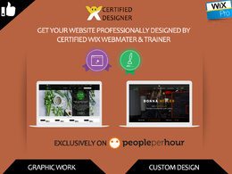 Design professional wix website