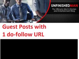 Publish on My DA 45 Men's Lifestyle Blog i Guest Post Form
