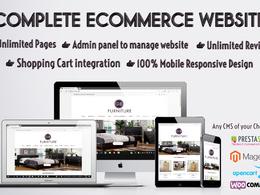 Design & Develop Custom eCommerce Website Prestashop Woocommerce