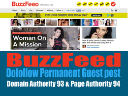 Guest Post On Buzzfeed.com - Buzzfeed with Dofollow Backlink