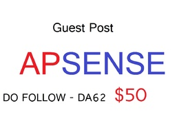 Guest Post Apsense Dofollow Da 62 - Write & Publish