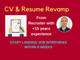 Powerful CV  (includes 1hr strategy consultation)