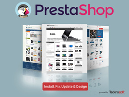 Fix and update Prestashop