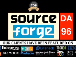 Publish guest post on sourceforge.net DA96, PA95