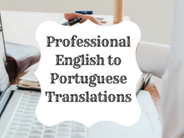 Translate up to 1000 words from English to Portuguese for $10