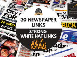 Gain 30 links from 30 Top Newspaper sites in the UK