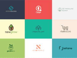 Design your minimalist beautiful professional logo+free favicons