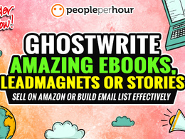 Write A Captivating Ebook Or Leadmagnet- Ideal For List Building