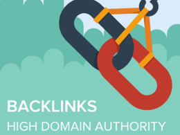 Manually build 30 high domain authority backlinks website SEO