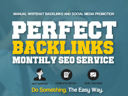 Create High DA TF Perfect Whitehat Backlinks Monthly SEO Service