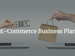 Send an e-commerce business plan