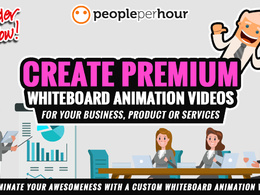 Create Premium Whiteboard Animation Videos for your Business