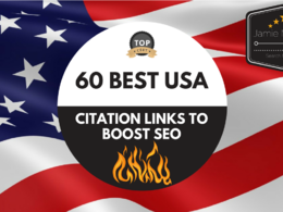 Build 60 of the BEST USA Citation Links To BOOST Your SEO