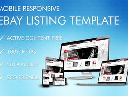 Design a bespoke custom listing auction template compliant 2018