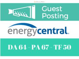 Publish a guest post on EnergyCentral - DA64, PA67, Alexa 212K