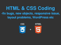 Edit your css/html and fix any error