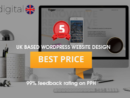 Design & develop a stunning and SEO friendly WordPress website.