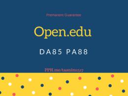 Guest post Open.edu DA84 Permanent Moneyback Guarantee