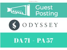 Publish a Guest/Blog Post on TheOdysseyOnline - DA71, TF47, DR70