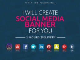 **2 HOURS DELIVERY** design Social Banner