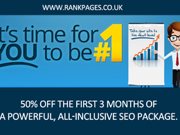 All-inclusive 3 months of SEO at 50% off -  Results-Driven SEO