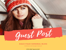 DA63 PA68 Dofollow and Google indexed General blog Guest post