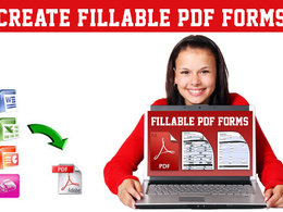 Convert static form to fillable PDF form 2 pages