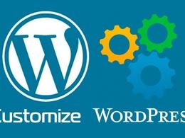 Edit, Modify or Customize your Wordpress Blog or Website