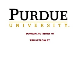 DOFOLLOW edu guest post on Purdue University - Purdue.edu DA 91