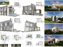 Create complete drawings set for your house project