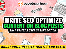 ✅ write Winning SEO Website Content ⭐ Blogposts ⭐ Sales Copies ⭐