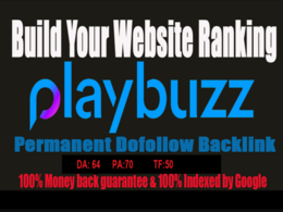 Write and publish your content on playbuzz