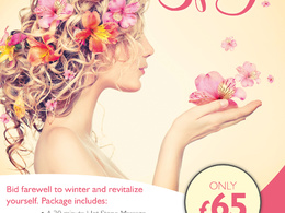Design a double sided A5 flyer or leaflet